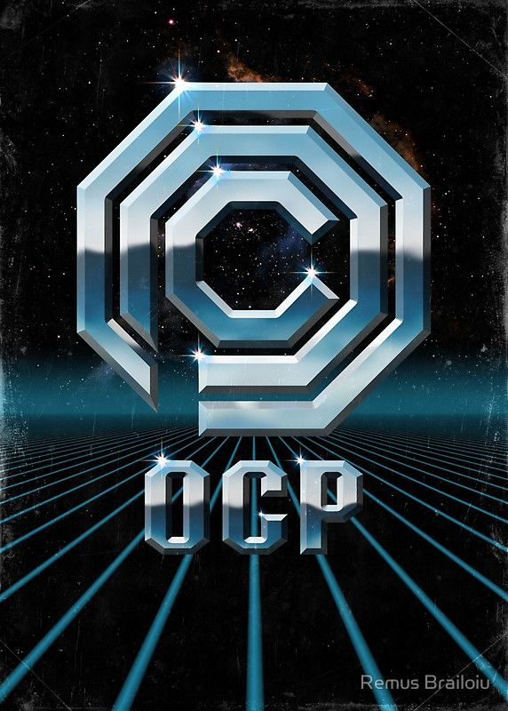 """""""OCP 80s"""" Photographic Print by Remus Brailoiu 