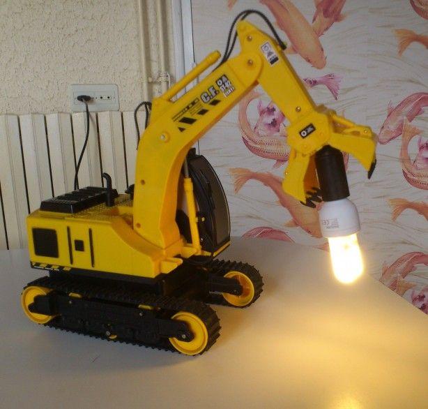 lamp voor mijn zoon, naar idee van Welke