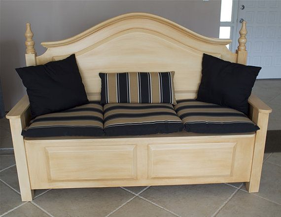 17 best ideas about headboard benches on pinterest. Black Bedroom Furniture Sets. Home Design Ideas