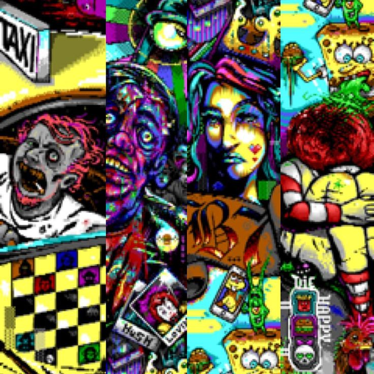 Celebrating 1 year of the release of Blocktronics' WTF4 mega joint. A collaborative ANSi artwork created by 24 artists in a record 4,636 lines! View the full artwork here: http://blocktronics.org/blocktronics-wtf4-megajoint-ans/ #ansiart #ansi #digital #digitalart #drawing #originaldrawing #art #textart #bbs #blocktronics #wtf4 #megajoint #mcdonalds #mcds #ronald #ronaldmacdonald #8bit #8bitartwork #collaborativeart #b7 #67