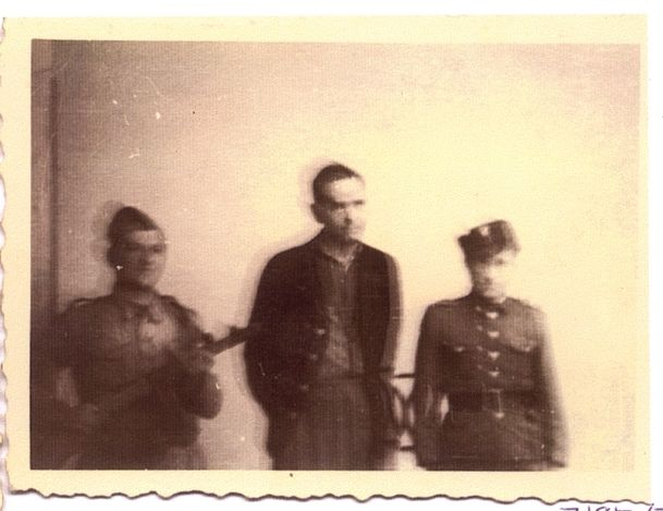 Krakow, Poland, 1946, a photograph of Amon Goeth, commander of the Plaszow concentration camp during his trial.