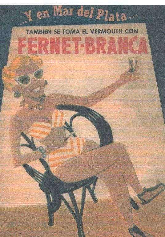 Fernet Branca. Mar del Plata.