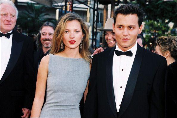 1997 Amazingness: Johnny Depp, Fantasy Couple, Festivals, Cannes Film Festival, Dress, Katemoss, Johnnydepp, Photo, Kate Moss