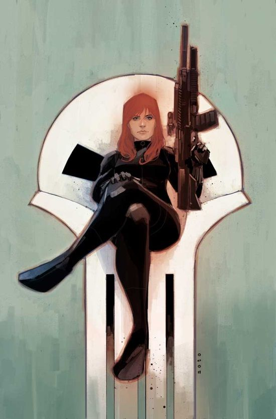Black Widow #9 by Phil Noto *