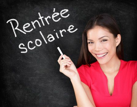 September 2nd is the first day back to school: la rentrée - Learn French