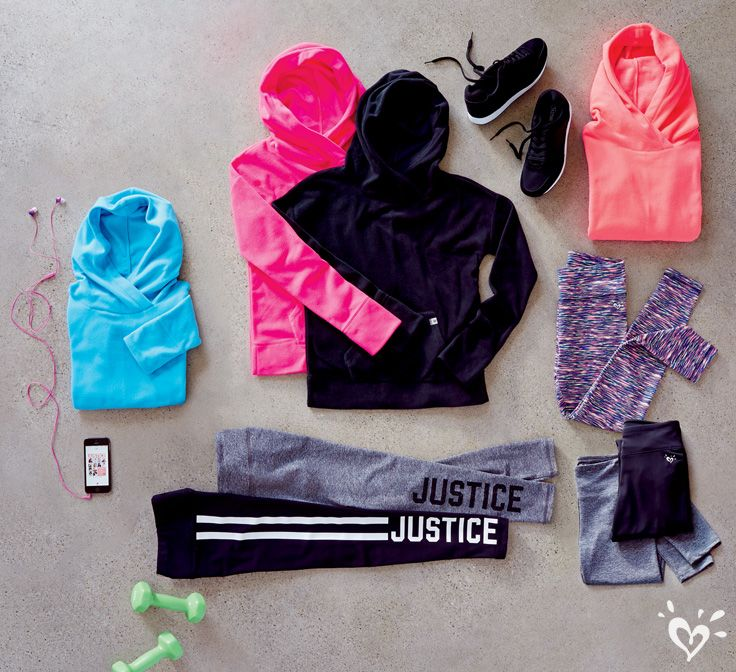 Our Exclusive Alexa Fleece Hoodie pairs perfectly with our made-to-match athletic leggings!