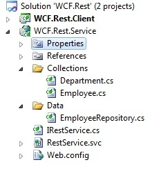 WCF REST service with XML / JSON response format according to Content-Type header