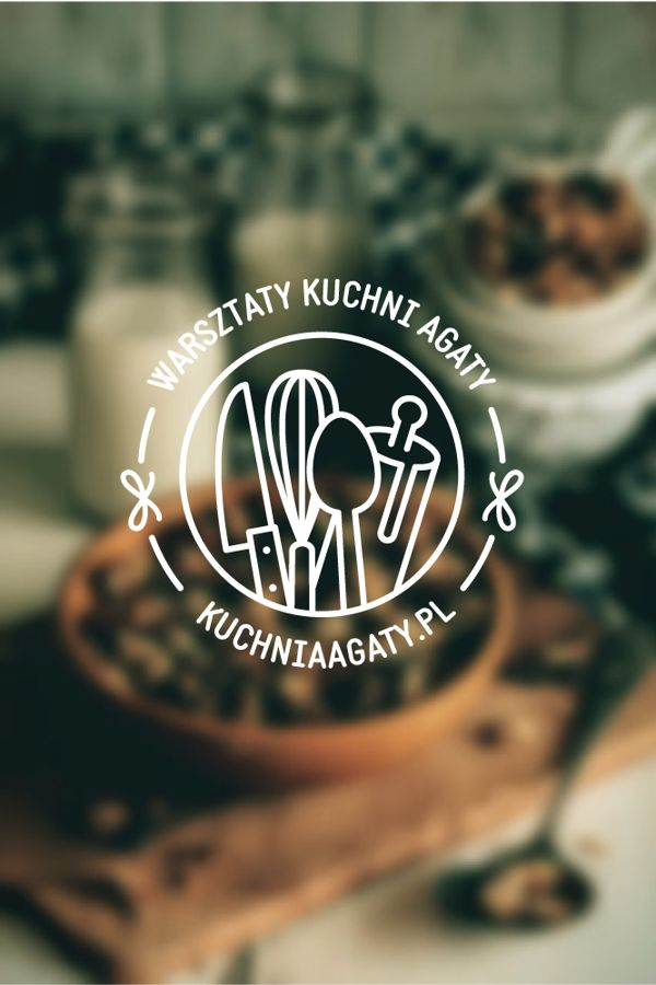 Warsztaty Kuchni Agaty logo by Agata Polasik, via Behance