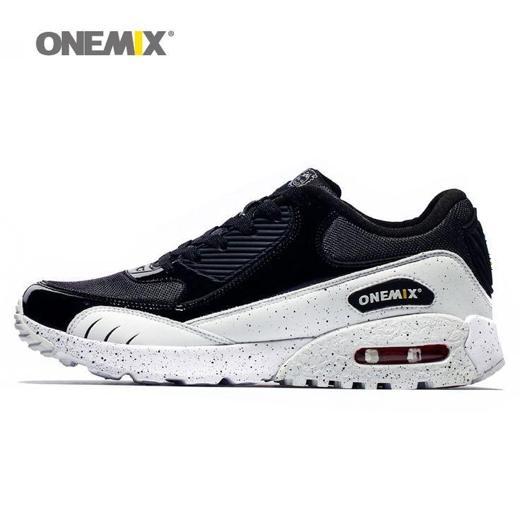 Baru kedatangan onemix luar trainer sepatu untuk pria olahraga berjalan sepatu populer meningkatkan menjalankan run sepatu ukuran 36-45 1065