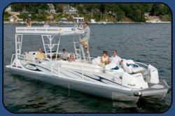 New 2013 - JC Pontoon Boats - TriToon Classic 306