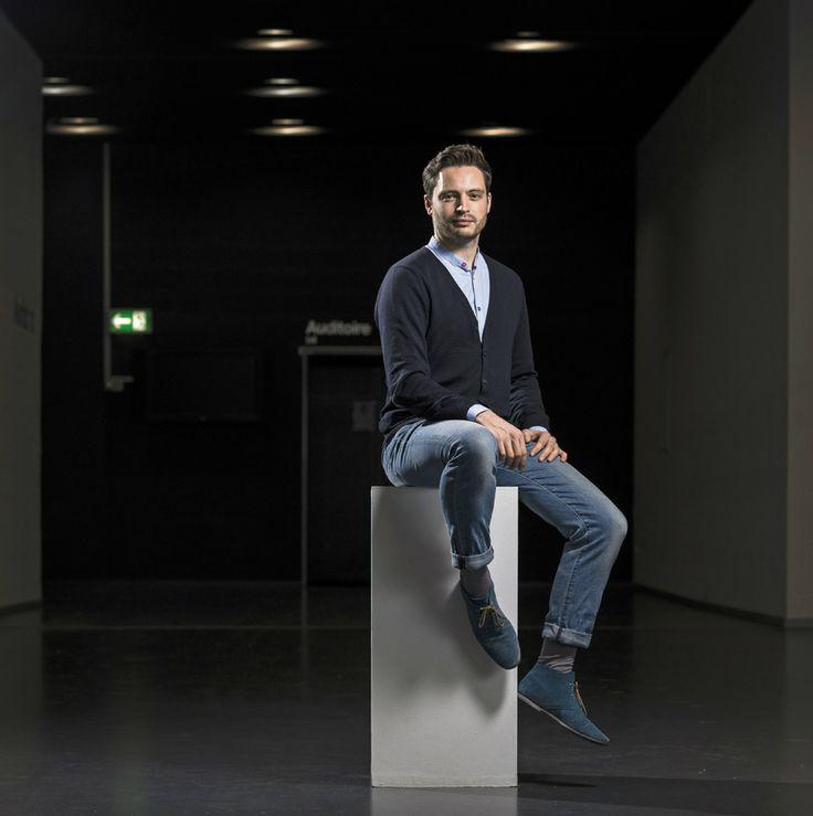 """Les métiers du luxe ont le vent en poupe. Nicolas Le Moigne, ECAL. """"Les marques veulent absolument travailler avec nos étudiants!"""" © François Wavre/Rezo"""