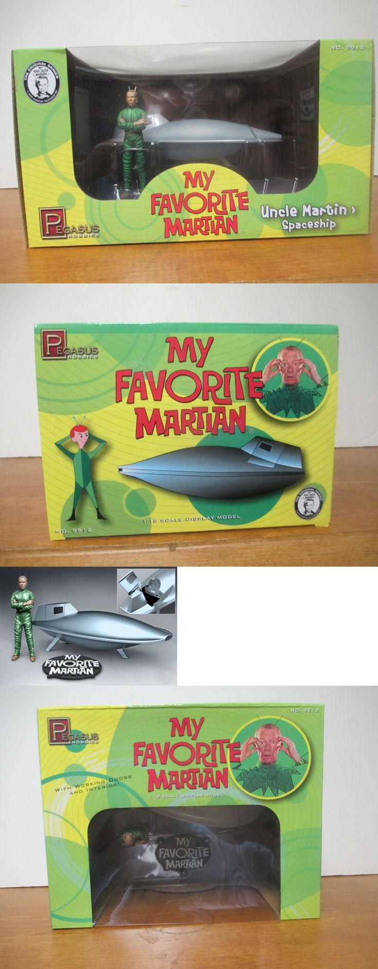 Other Sci-Fi Models and Kits 1193: Pegasus Models # 9912 1 18 My Favorite Martian - Uncle Martins Spaceship Display -> BUY IT NOW ONLY: $45 on eBay!