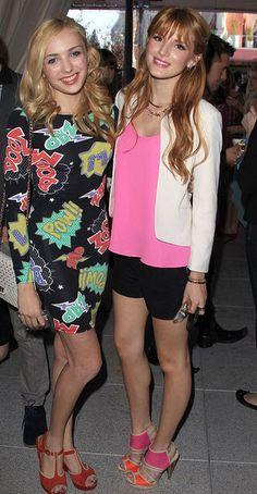 Peyton List Congratulates Bella Thorne On Her Movie Role