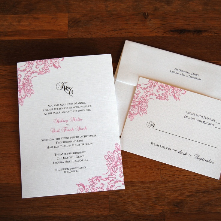 addressing wedding invitations married woman doctor%0A Vintage Lace Design Wedding Invitations         via Etsy