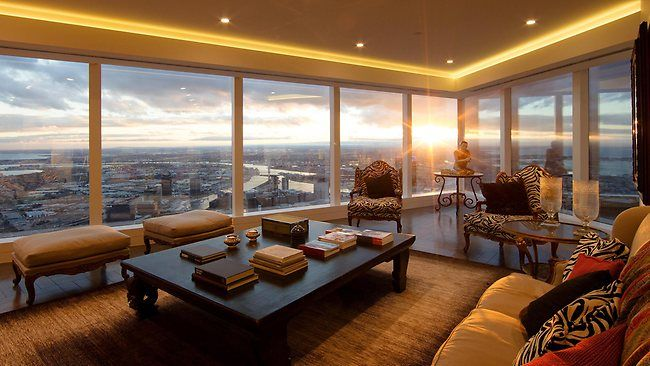 84th floor Penthouse, Eureka Tower Melbourne, Furnished by Graham Geddes Antiques