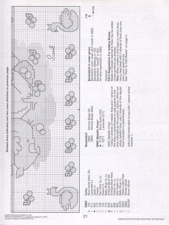 Solo Patrones Punto Cruz (pág. 1100) | Aprender manualidades es facilisimo.com