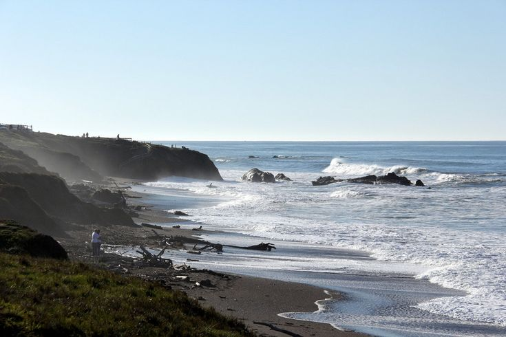 Love the beautiful boardwalk in Moonstone Beach in Cambria.