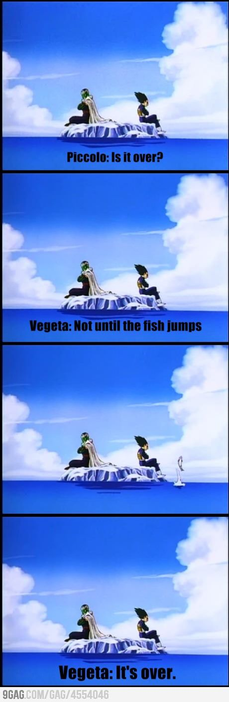 A good way to end a DBZ Movie