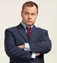Jack Dee - Stand-up comedian, actor and writer. Book - A big comprehensive encyclopaedia. Luxury - Acoustic guitar. 11-5-2014.