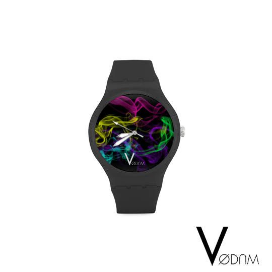 Reloj de colores fumar gótico Punk Rock Tattoo Cyber