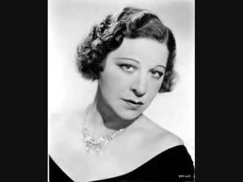 """Fanny Brice - My Man (1938) Fanny headlined Ziegfeld Follies from 1910 to 1911. She was hired again in 1921 & performed into the 1930s. In 1921 she was featured singing """"My Man"""", which became her signature song."""