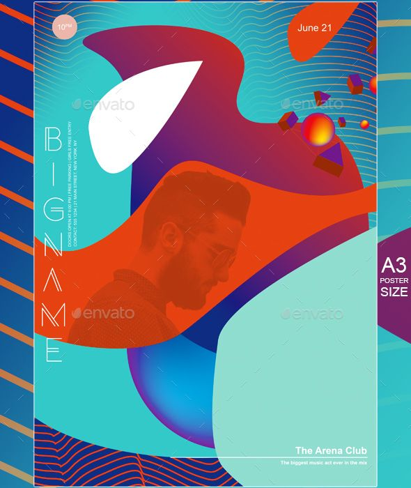 619 best Minimal Flyer Templates images on Pinterest Flyer - geometric flyer template
