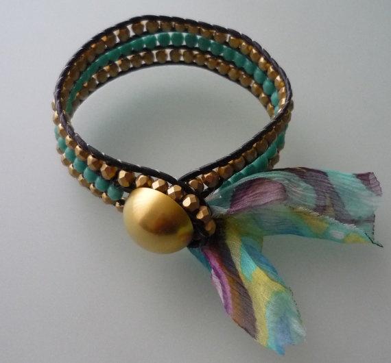Wrap Bracelet by omes37 on Etsy, $20.00
