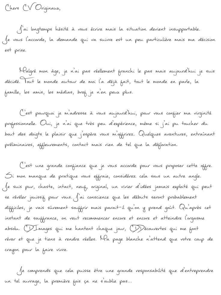 les 25 meilleures id u00e9es de la cat u00e9gorie lettre de motivation originale sur pinterest