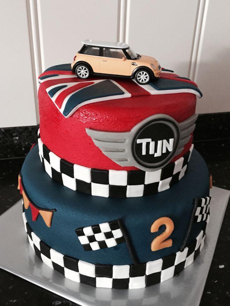 Mini cooper cake! Taart mini auto