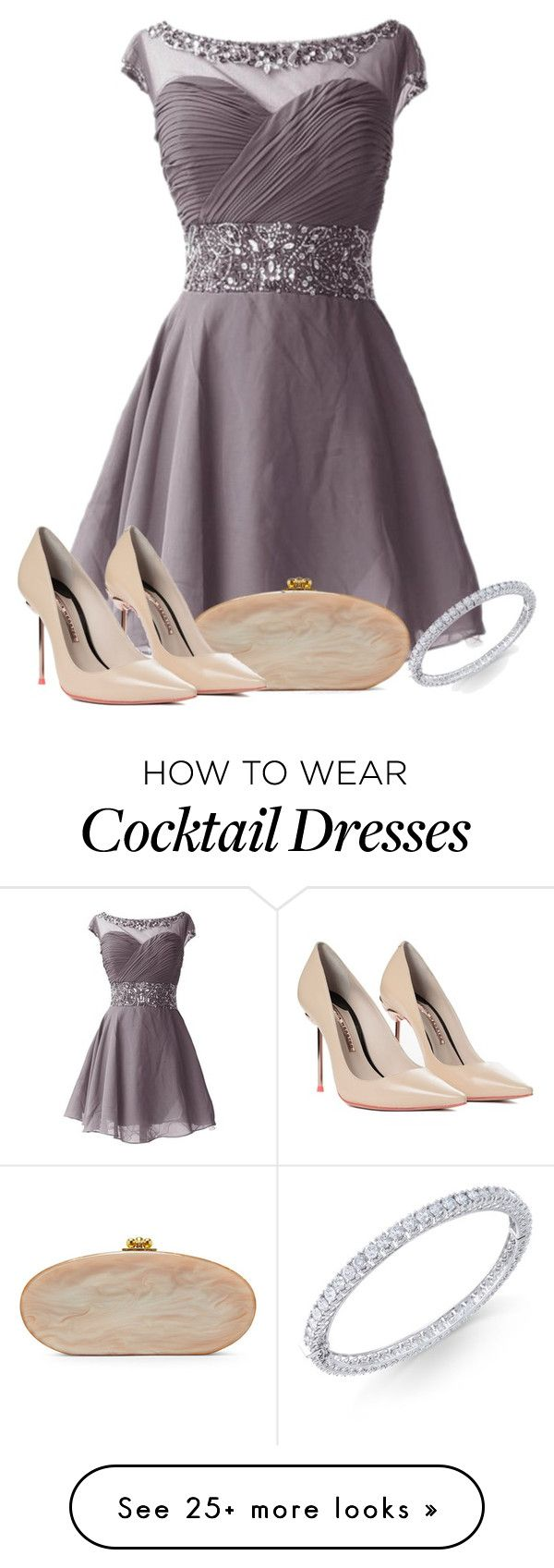 """""""sister's wedding"""" by lilly517 on Polyvore featuring Edie Parker and Sophia Webster"""