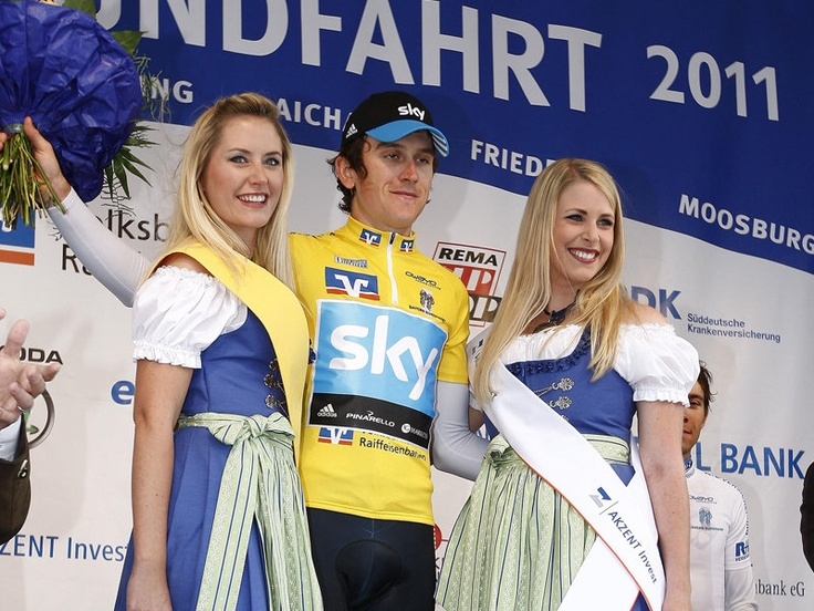 GERAINT THOMAS CAREER GALLERY  An impressive stage race victory at Bayern-Rundfahrt in 2011, a key race which helped spark momentum for the team