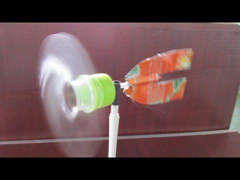 Wie man ein Windrad mit Kunststoff-Flasche machen | machen Spielzeug - YouTube