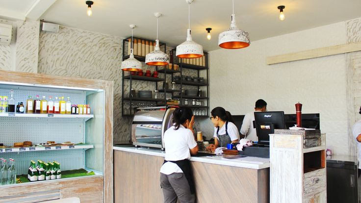 Clean Canteen at Petitenget Bali, Indonesia by Me