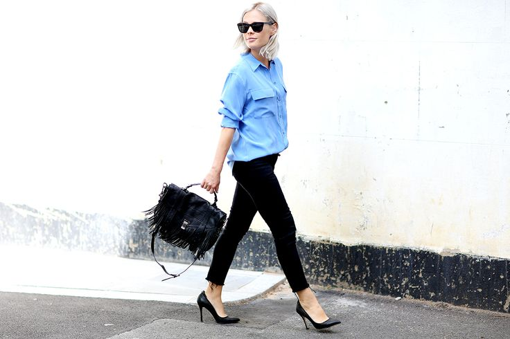 STREET STYLE — (via Personal Style: Handbag edit with Harvey...
