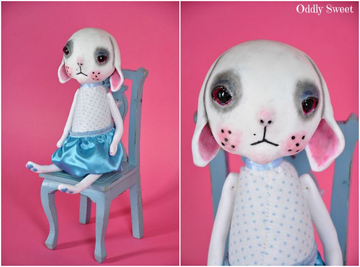 Oddly Sweet Doll Claire. A reproduction using SmoothOn Moldmaking materials and rein. She is now available ...