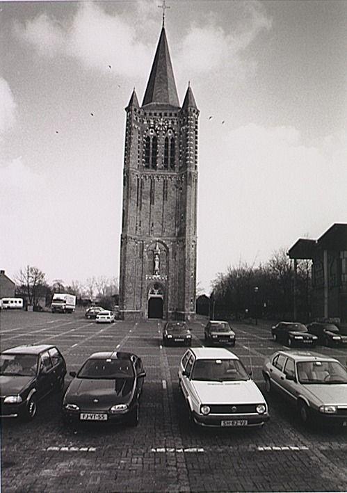 Son, Kerkplein OmschrijvingToren van de voormalige kerk Fotopersbureau van de Meulenhof : Martens, K. (fotograaf) - 1994