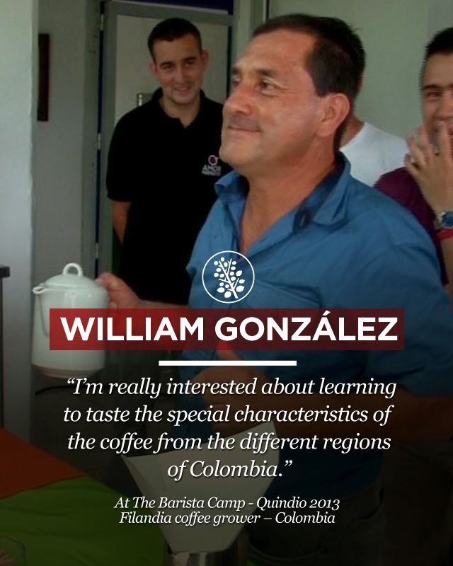 William González an experienced coffee grower also shared with us his thoughts. Remember to visit www.colombiancoffeehub.com for more original coffee content.