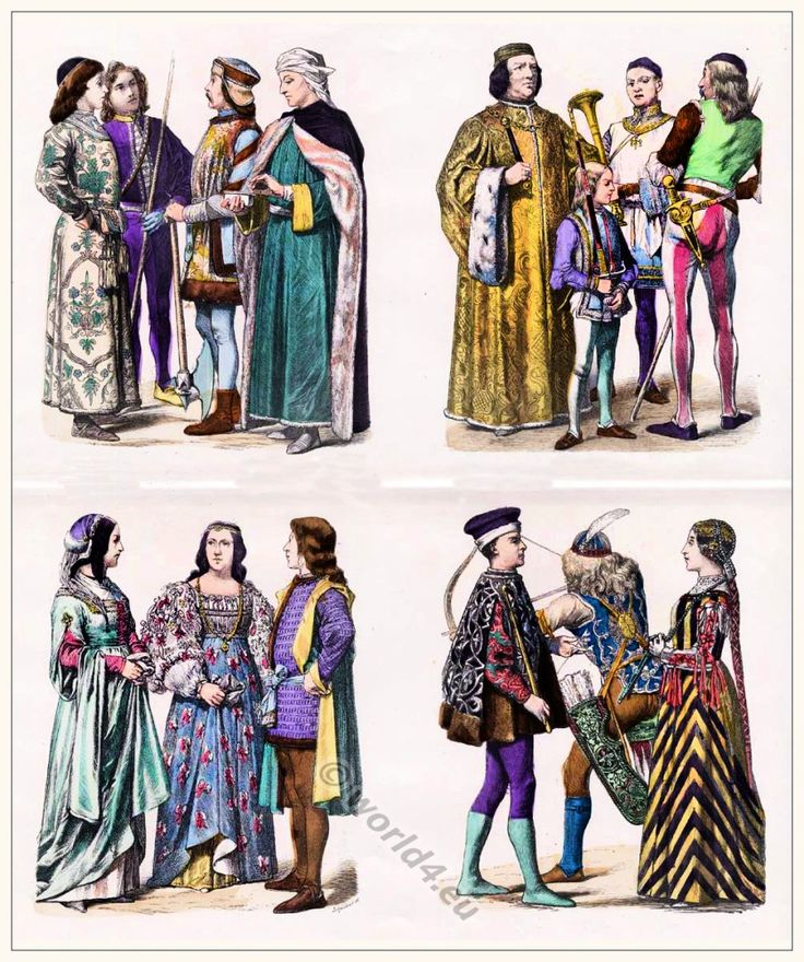 53 Best Images About Medieval Dress On Pinterest: Italian Renaissance Costumes. Medieval Clothing In Italy