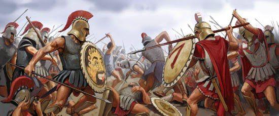 imagen de Atenienses contra Espartanos