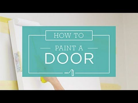 How To: Painting A Door - Taubmans Australia - YouTube