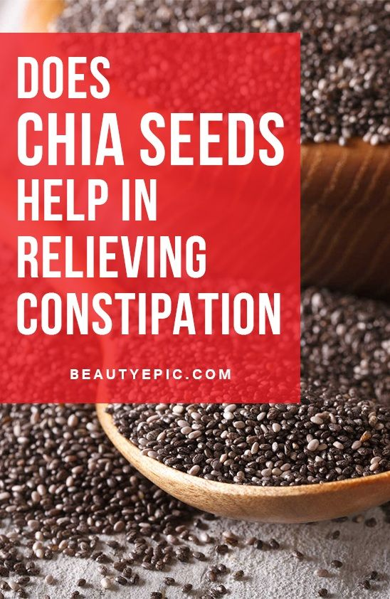How to Take Chia Seeds for Constipation Relief?Noor Amir Ali