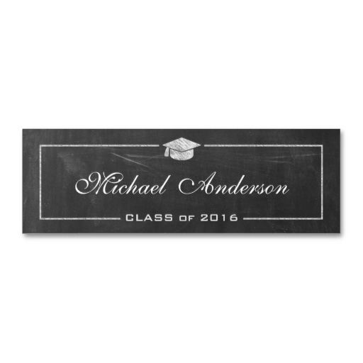 21 best images about graduation name cards on pinterest