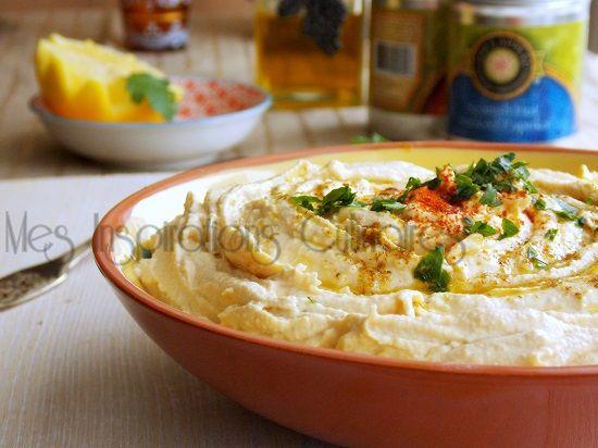 houmous libanais houmous libanais recette libanais mezzé libanais ...