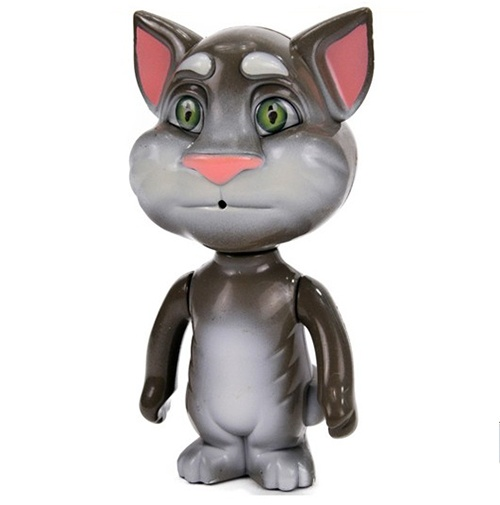Talking Tom App Character Records Replays Your Speech