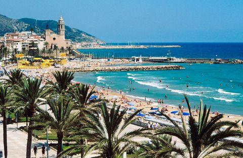 Sitges, Barcelona province, Catalonia, Spain