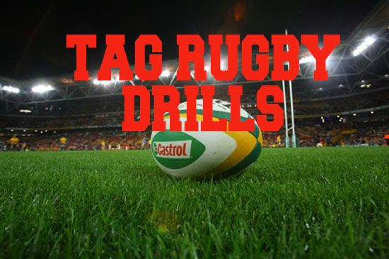 Tag Rugby Drills are great to practice for improving running skills, hand eye coordination and busts of energy when sprinting to tag your competition making the tackle. http://www.rugbydrills.net/tag-rugby-drills/ here is a list of ways you can play tag rugby, we have compiled a list for you to take with you onto the field and put into practice.