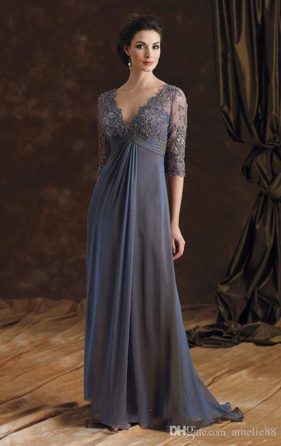 Never miss the chance to get the best mother of the bride dresses for a beach wedding,mother of the bride dresses glasgowand mother of the bride dresses gowns on DHgate.com. The cheap half sleeve grey mother of the bride dresses appliqued chiffon v-neck formal women evening gowns a-line weddings party dress 2017 is for sale in amelie88 and buy it now!