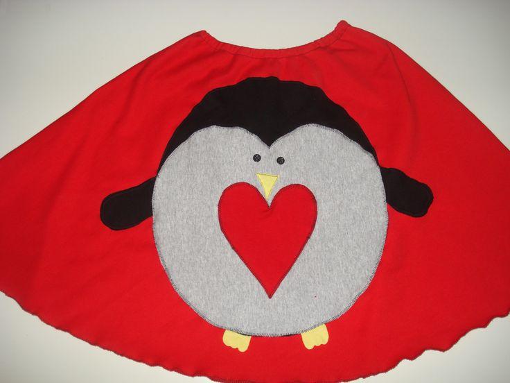 χειροποίητη φούστα πιγκουίνος
