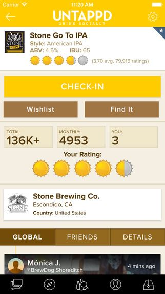 Untappd - Discover Beer by Untappd LLC