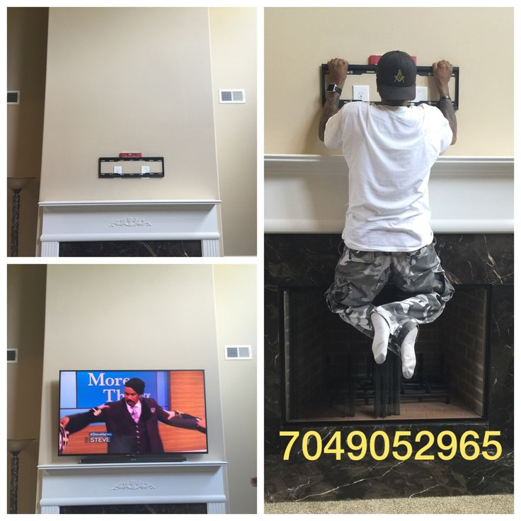 We offer a free tilting TV wall mount and a 15-foot HDMI cable with every flat screen TV and monitor installation. Our professional TV mounting services start at only $89 with the wall mount included. All of our TV wall mounts are made from 100% unbreakable heavy-duty steel. We have been professionally wall mounting televisions in Charlotte and the surrounding area for years and have seen many types of wall mounts customers use to install their expensive TVs.